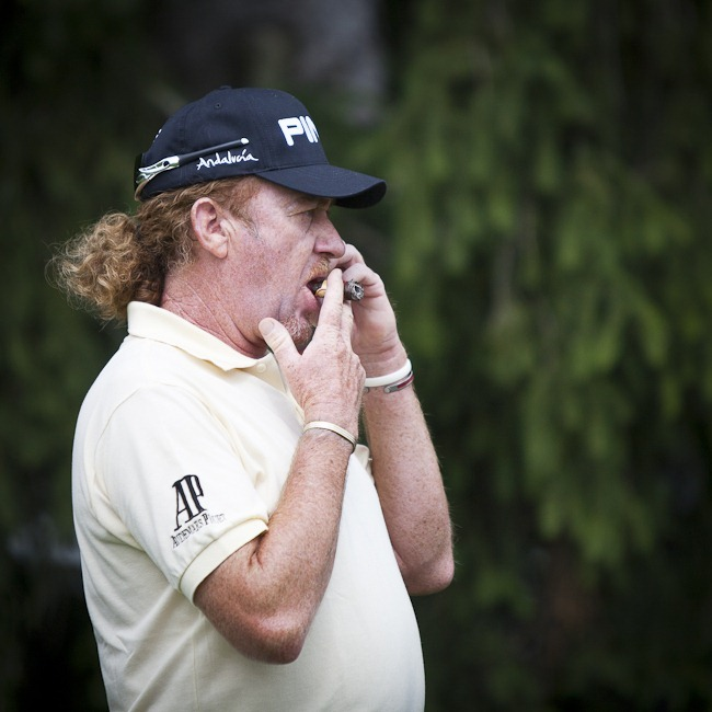 Miguel Angel Jimenez at 2011 US Open