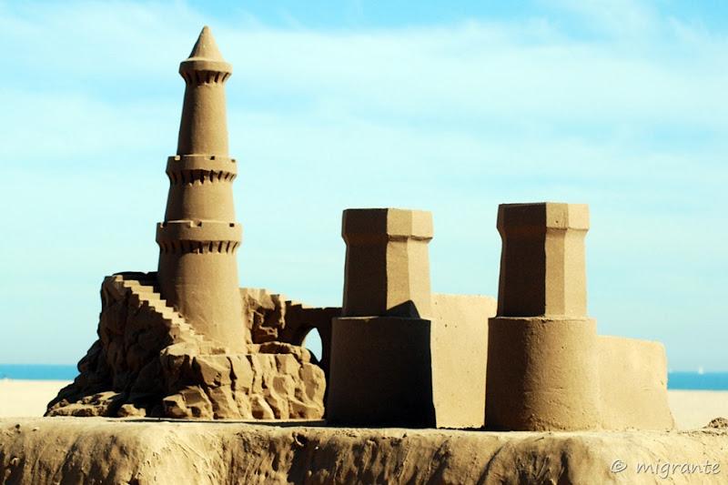 castillo - las arenas - valencia