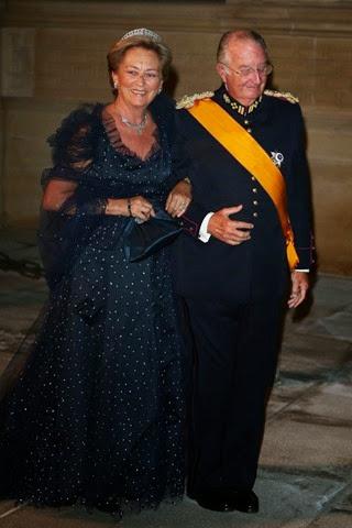 Los Reyes de Bélgica