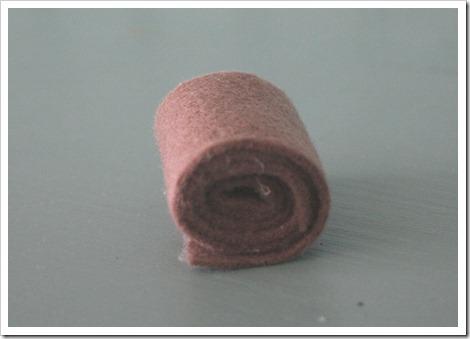 roll of felt