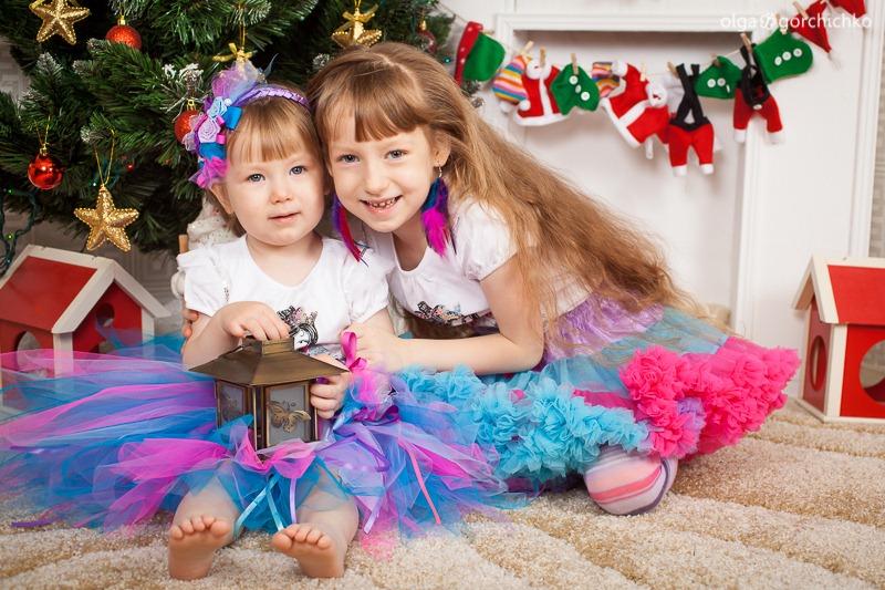 Детский новогодний фотопроект Рождественские мечты. 16. Аня и Саша Муреня-9342