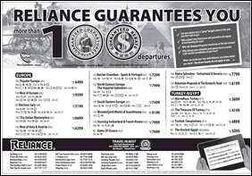 reliance-guarantee-100-Departures-2011