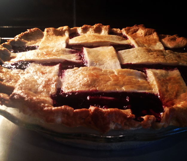 Homemade Blackberry Pie with the Best Homemade Pie Crust