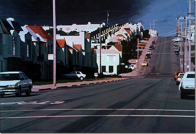 Robert_Bechtle_Vicente Avenue Intersection_1989