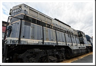 B&O Number 6607 - EMD GP-9