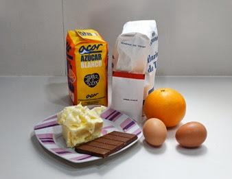 Receta Magdalenas Chocolate
