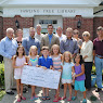 Pawling Library $10,000 Check Presentation