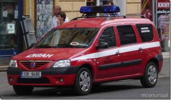 Brandweer Praag