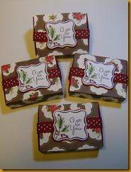 Gift Tag Matchboxes