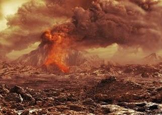permukaan venus sebelum terraforming