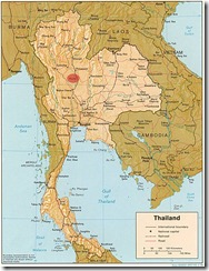 thailand Map Picture copie