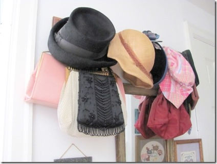 old hat rack