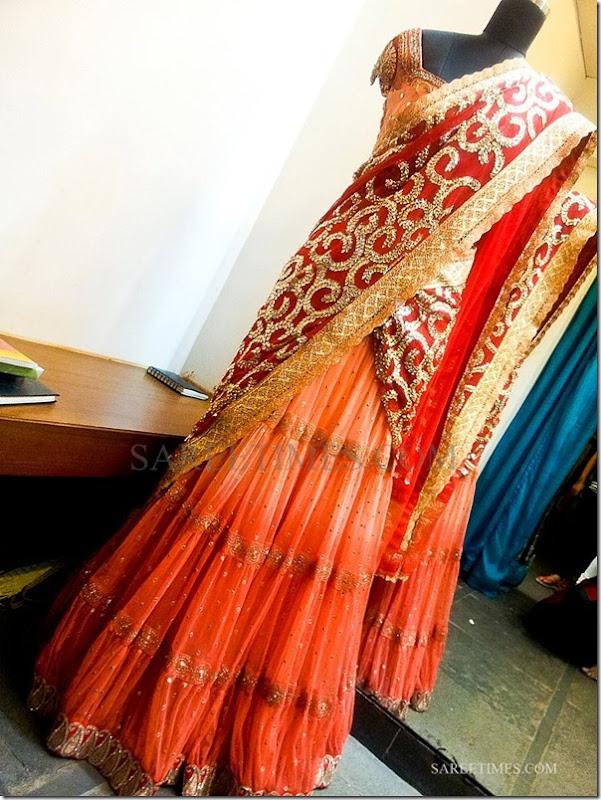 orange_half_saree