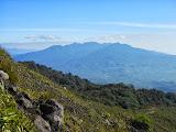 Gunung Pasu seen from Gunung Kaba (Dan Quinn, August 2013)