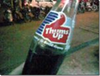 thumbs up coke bottle