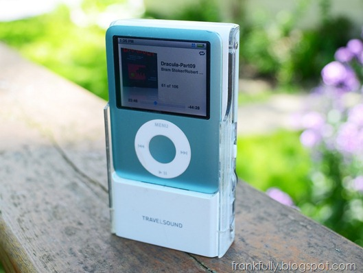3rd gen iPod Nano and Creative TravelSound i80 Speaker