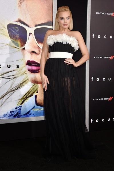 Margot Robbie Focus Premieres Hollywood