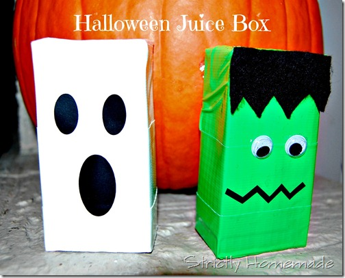 Halloween Juice Boxes