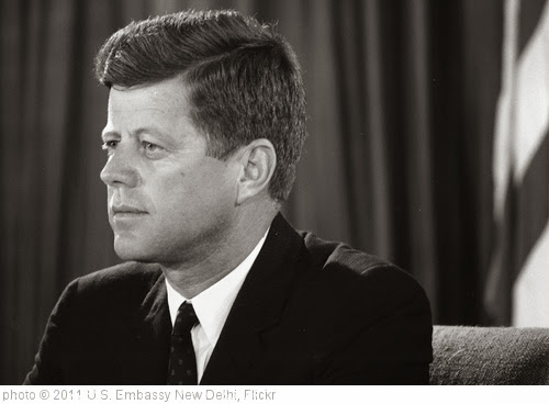 'President John F. Kennedy' photo (c) 2011, U.S. Embassy New Delhi - license: http://creativecommons.org/licenses/by-nd/2.0/