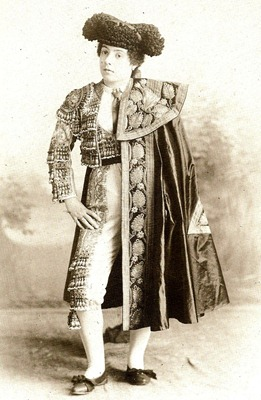 Dolores Pretel La Habana 1895 (fot. Otero y Colominas)