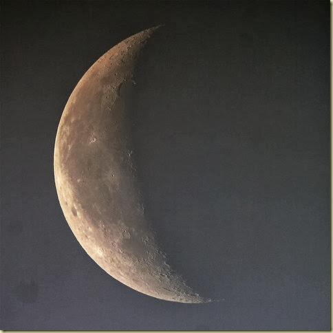 29 September 2013 Daytime Moon