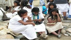 Mujeres Jovenes Arhuacas