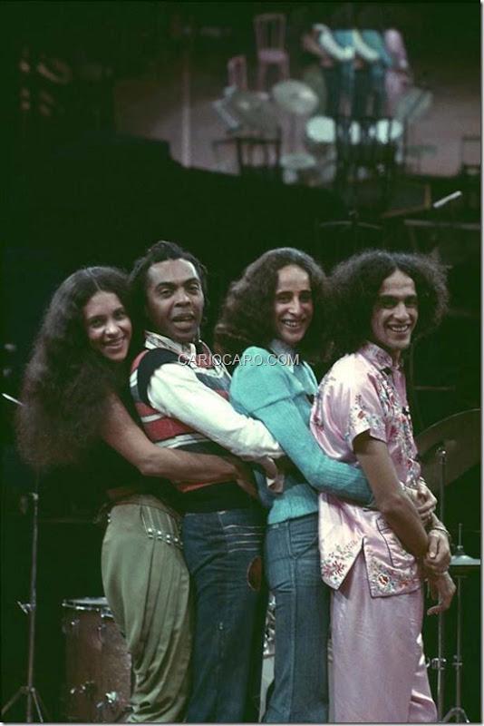Gal Costa, Gilberto Gil, Maria Bethânia e Caetano Veloso