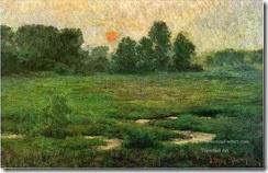 3-An-August-Sunset-Prarie-Dell-landscape-John-Ottis-Adams