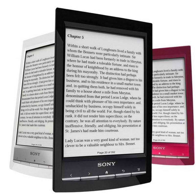 Review: Sony Reader Wi-Fi Touch