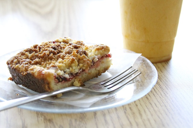 Raspberry bar from New Coffee Mill
