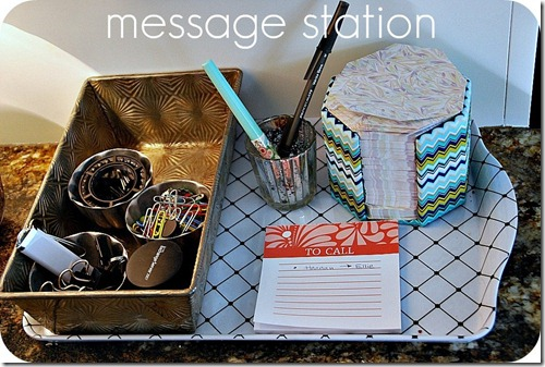 message station