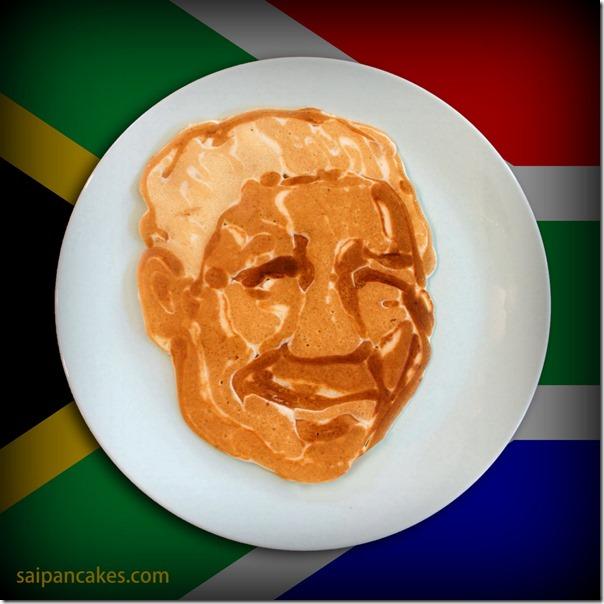 Mandela pancake
