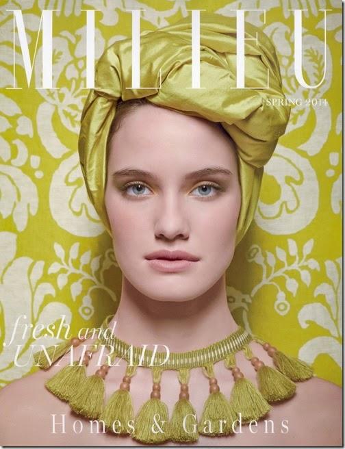 MILIEU Spring 2014 - Cover