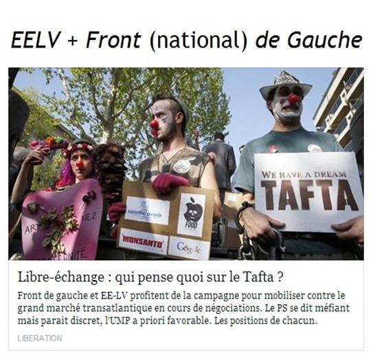 EELV e Front nacional de Gauche