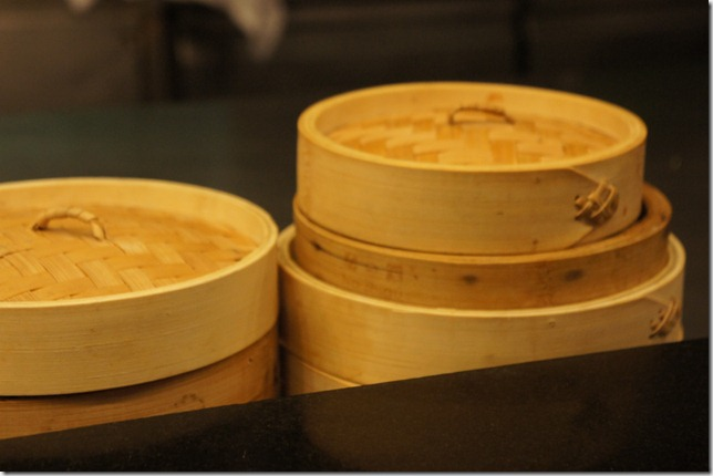 dim sum baskets. pic taken by Shanky