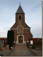 Halmaal, Halmaalweg: de kerk