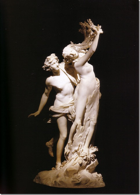 Daphne and Apollo By Bernini