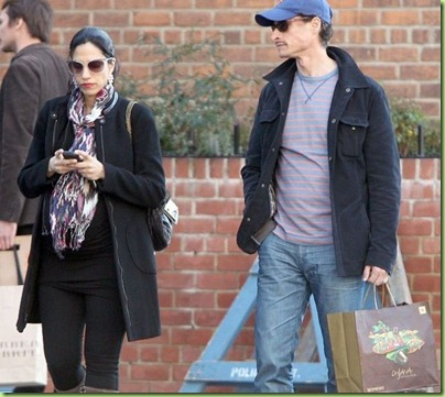 weiner Huma and baby to be
