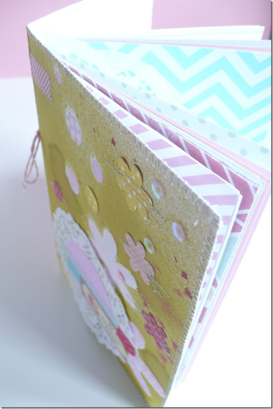 cafe creativo - Anna Drai - big shot sizzix - mini album (5)