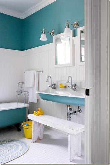 decoración de baños pequeños9