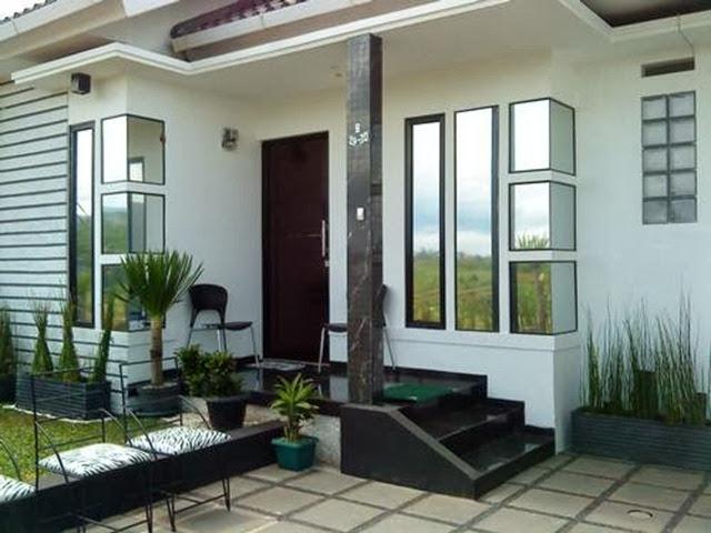 teras rumah klasik minimalis
