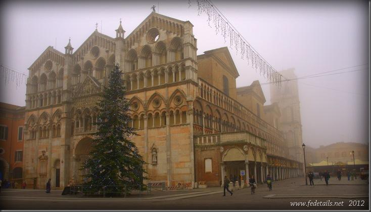 Cattedrale di San Girogio e nebbia, Ferrara, Emilia Romagna, Italia - St. George's Cathedral and fog, Ferrara, Emilia Romagna, Italy - Property and Copyrights of www.fedetails.net
