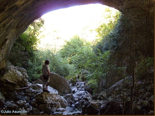 Arco de piedra del Zatoya - Abaurrea alta