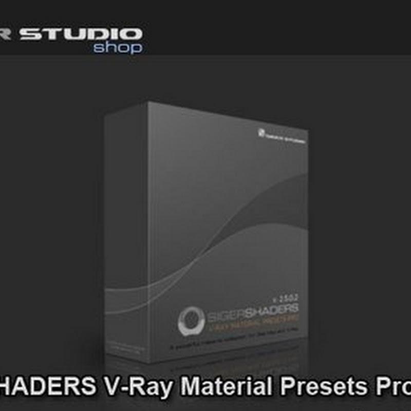 SIGERSHADERS VRay Material Presets Pro V.2.5.10