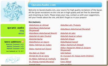 quranic audio