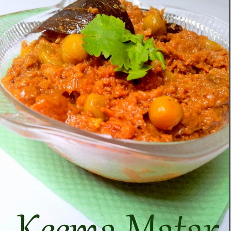 Keema Matar | Matar Keema | Minced Mutton with Peas & Spices | Bakrid Recipes