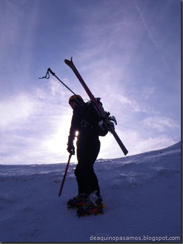 Pico de Canal Roya 2345m con esquis (Portalet, Pirineos) (Isra) 7320