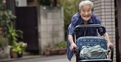 Centenários do Japão