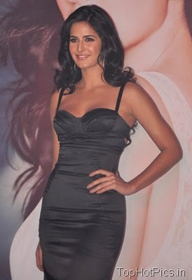 Katrina Kaif in Gorgeous Black Dress at Femina Launch 7