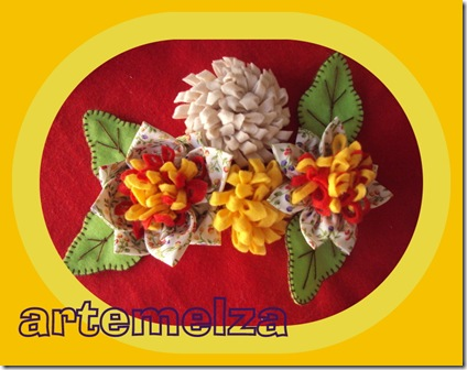artemelza - flor de pano e feltro 1-058